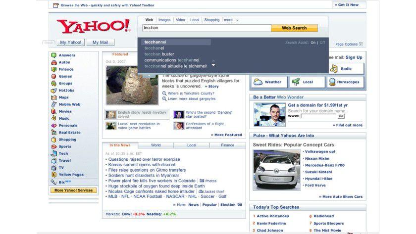 Zu Diensten!: Der Yahoo-ASsisten soll Anwendern bei Suchanfragen behilflich sein.