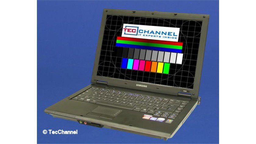 Samsung P400-PRO: 14,1-Zoll-Display und Intel 2 Core Duo bilden die Basis für das Business-Notebook.