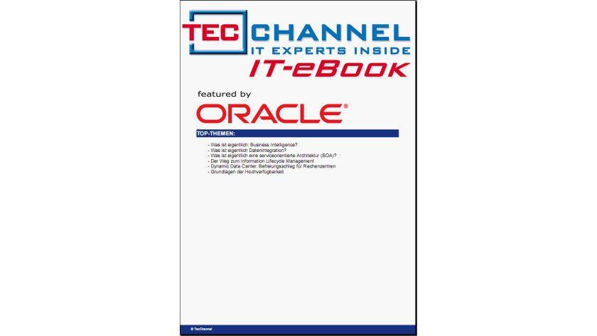 Über 30 Seiten: Das kostenlose Book vermittelt aktuelles IT-Grundwissen. Wir haben dazu sechs redaktionell unabhängige TecChannel-Grundlagenartikel zusammengestellt. Die Kosten übernimmt Oracle für Sie.
