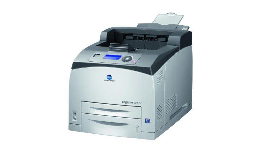 Konica Minolta pagepro 5650EN: Der Gruppendrucker soll bis zu 43 Seiten pro Minute produzieren. (Quelle: Konica Minolta)