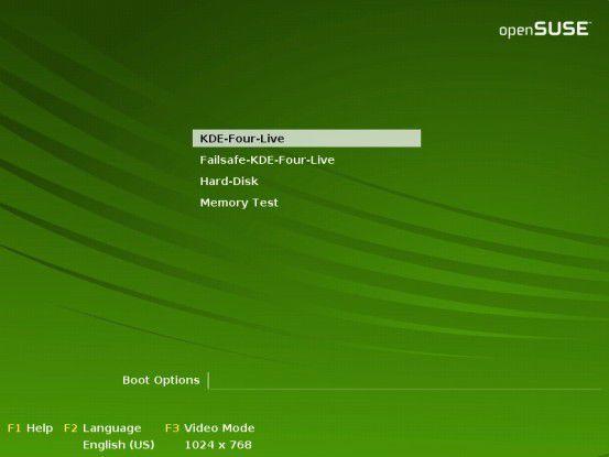 Ohne Risiko: Dank Live-CDs lässt sich KDE 4 in Ruhe begutachten, ohne diesen installieren zu müssen.