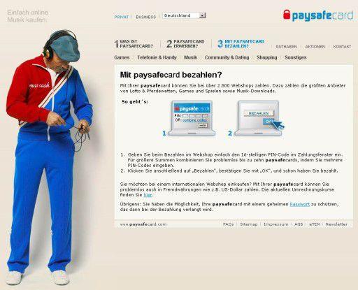 Paysafecard Unter 18