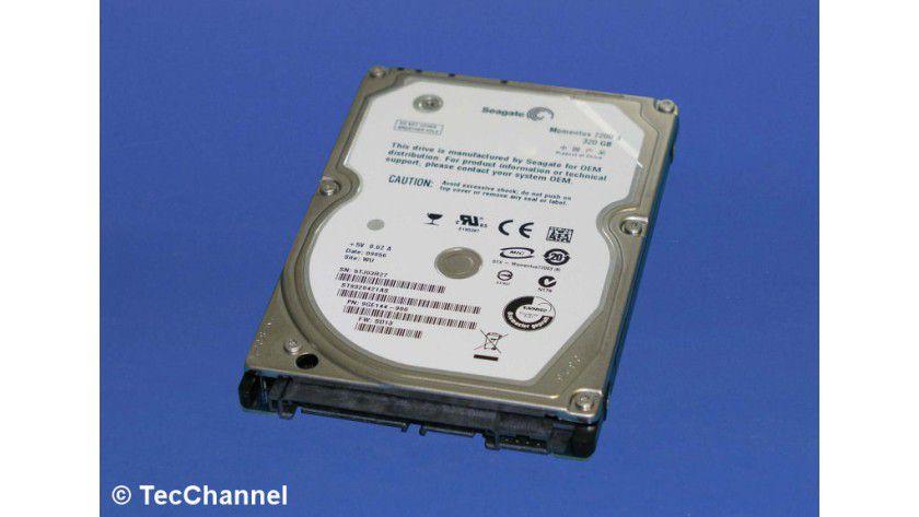 Seagate Momentus 7200.3 ST9320421AS: 320 GByte Kapazität