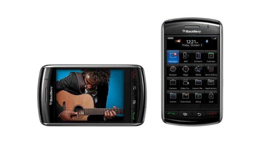 Blackberry Storm: Das erste Smartphone von RIM mit großem Touchscreen.