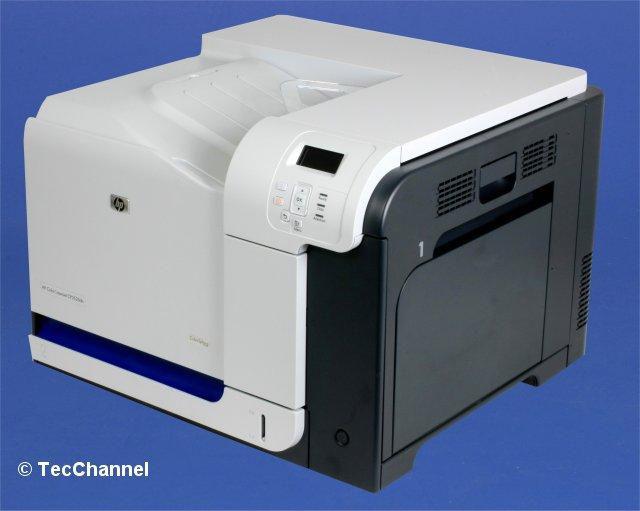 Bild: HP Color LaserJet CP3525dn: Nominell ist das Druckwerk für 30 ...