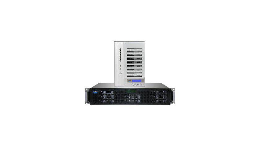 Viel Speicher, viele Funktionen: NAS und iSCSI Arrays von NASdeluxe mit bis zu 8 Terabyte Kapazität.