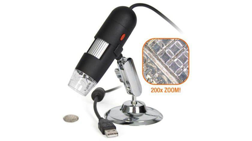 USB-Mikroskop. Foto: Flametoys