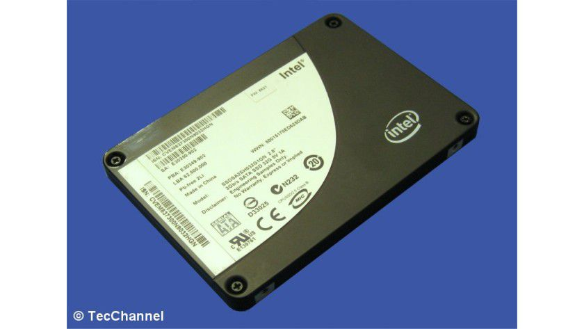 Intel X25-E Extreme: Die Solid State Disk ist für den Einsatz in Servern und Workstations gedacht.
