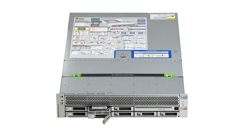Premiere: Sun stellt neue Server-Systeme mit AMDs neuen Shanghai-Prozessoren vor. Das Bild zeigt den Server Sun Fire X4440. (Quelle: Sun)