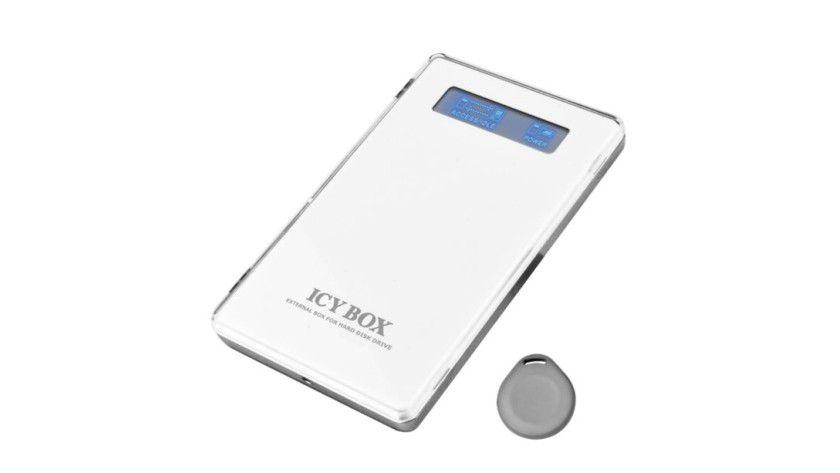 Storage-Tresor: Die Icy Box IB-220RFID funktioniert nur mit RFID-Token. (Quelle: Raidsonic)