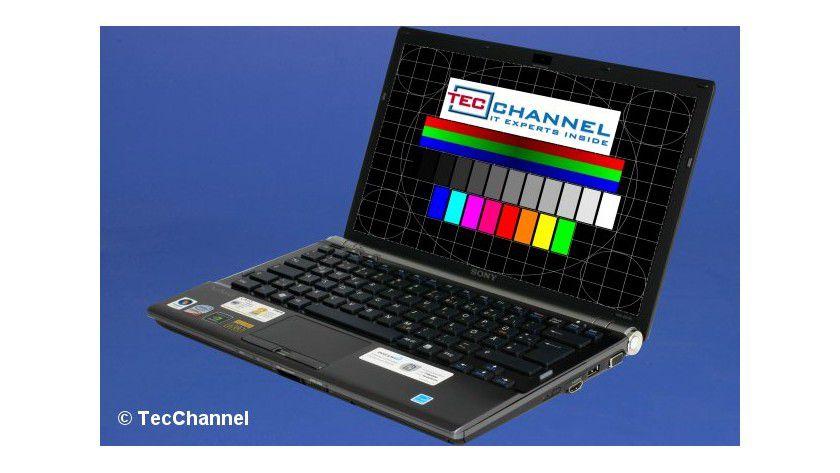 Sony Vaio Z21VN/X: Das 13,1-Zoll-Display arbeitet mit LED-Hintergrundbeleuchtung und einer Auflösung von 1600 x 900 Bildpunkten.