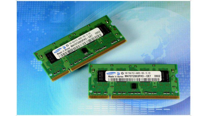 Neulinge: Samsung präsentiert erste validierte Speichermodule in 40-nm-Technologie. (Quelle: Samsung)