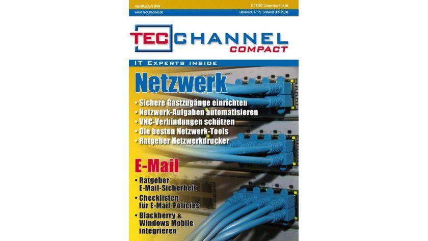 """Ab sofort online zu bestellen: Das neue TecChannel Compact 2/2009 mit dem Themenschwerpunkten """"Netzwerk und E-Mail""""."""