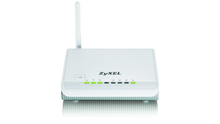 Halbe Kraft voraus: Zyxel WLAN-Router mit 150 Mbit/s 802.11n.