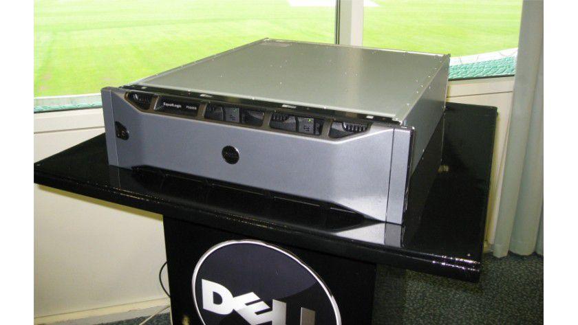 Speicher satt: Dell präsentiert mit der PS6000-Serie neue iSCSI-SAN-Storage Arrays.