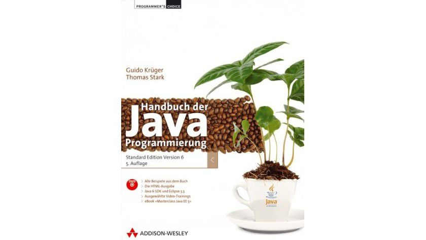 Kostenloses eBook im Wert von 39,95 Euro: Handbuch der Java-Programmierung.