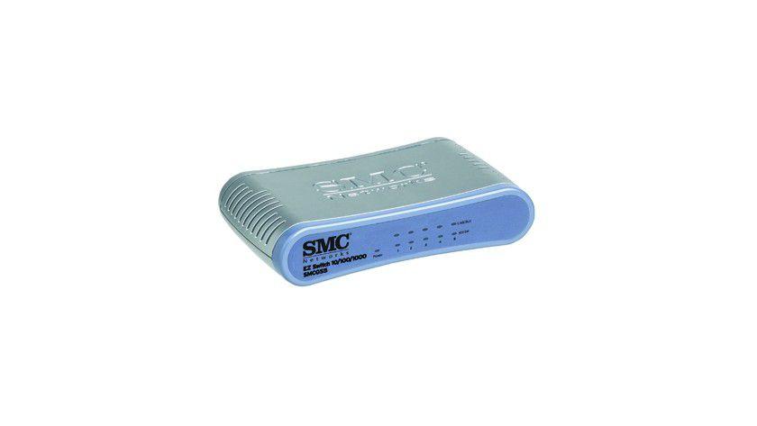 Switch spart Strom: SMCs neue Green-Ethernet Switches kommen mit 60 Prozent weniger Energie aus. (Quelle: SMC)