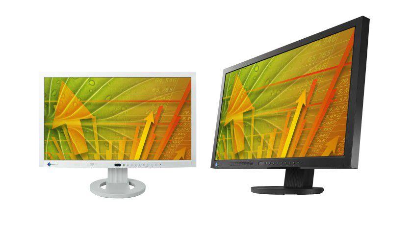 Eizo EV2303W: Das Display erkennt, ob ein Benutzer davor sitzt und schaltet sich dementsprechend ein oder aus. (Quelle: Eizo)