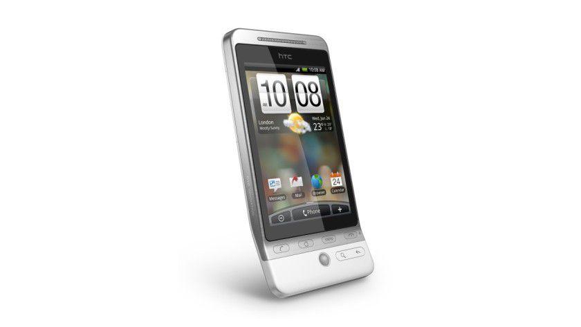 HTC Hero: Das Android-Smartphone kommt mit der neuen Oberfläche HTC Sense. (Quelle: HTC)