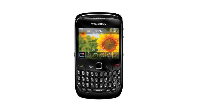 Ohne Trackball und GPS: Der neue BlackBerry Curve 8520 (Quelle: BlackBerry)