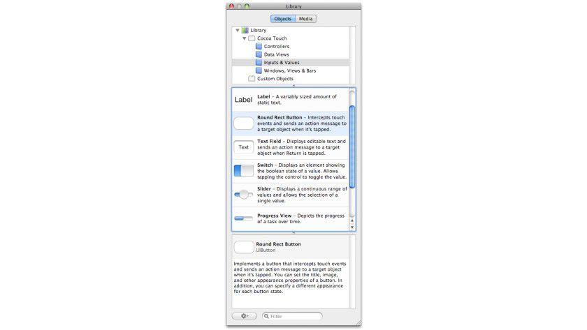 Schritt 1 zur ersten Anwendung: Interface-Objekt anwählen.