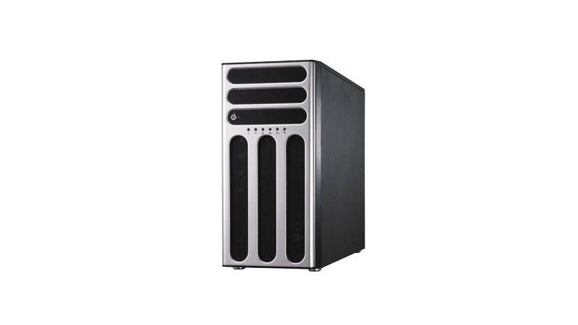 Calleo 145: Den Server hat de Hersteller als Standalone-Tower-Server konzipiert. (Quelle: transtec)