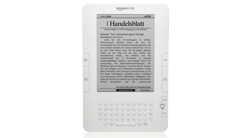 Reader: Amazon liefert den Kindle nun auch in Europa aus. (Quelle: Amazon)