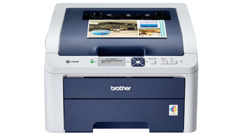 Brother HL-3040CN: Der neue Drucker arbeitet mit einem LED-Druckwerk, das 16 Seiten pro Minute produzieren soll. (Quelle: Brother)