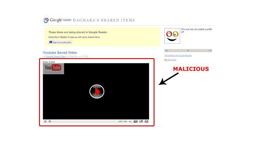 Kein Video: Koobface tarnt sich erneut als Codec. (Quelle: Trend Micro)