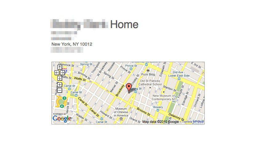 """Das Konzept: """"Please Rob Me"""" zeigt das unbewachte Zuhause direkt bei Google Maps."""
