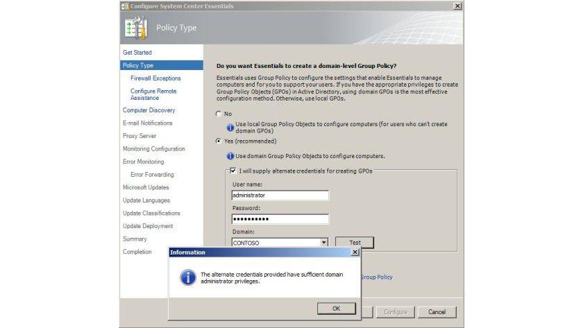 Regelwerk: Anbindung und Konfiguration verwalteter Computer erfolgen über Gruppenrichtlinien oder lokale Richtlinien.
