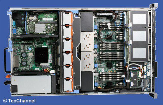 Zukunftssicher: Ein flexibles Storage-Subsystem erleichtert die Erweiterung eines Rack-Servers um entsprechende Festplatten.