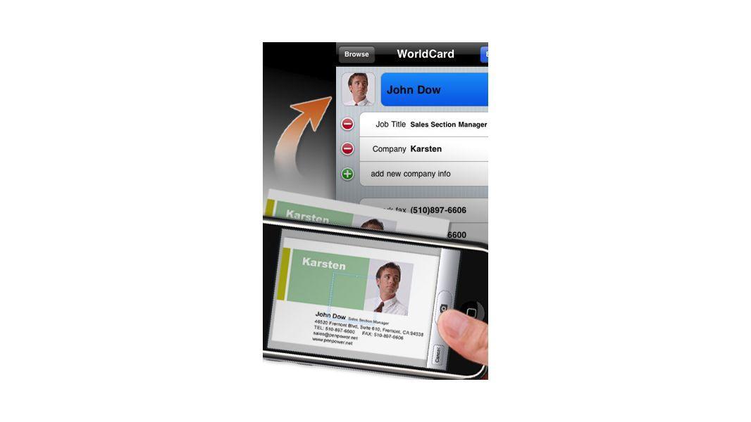 Kostenpflichtige Business Iphone Apps Worldcard Mobile