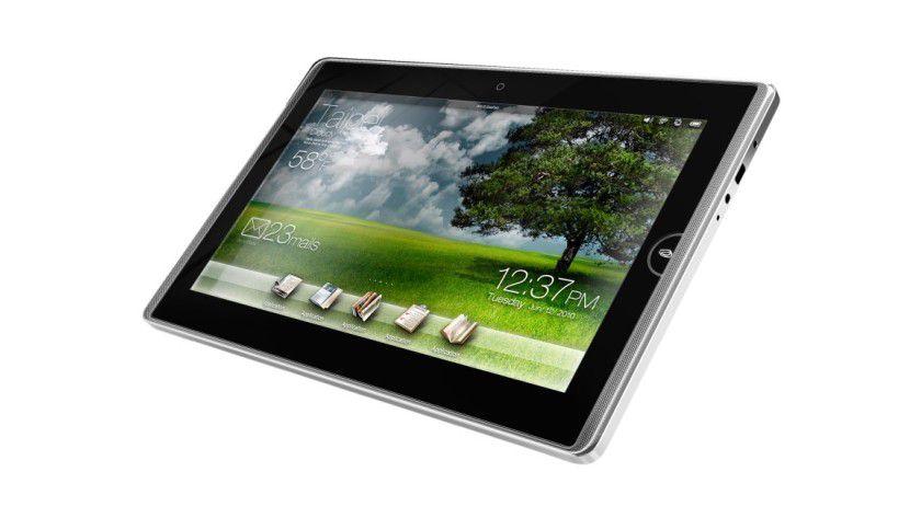 Asus Eee Pad: Das 10-Zoll-Gerät basiert laut Asus auf Windows Embedded Compact 7. (Quelle: IDGNS Taipei, Asus)