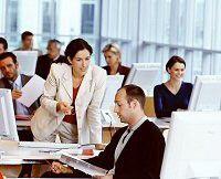 Beim Distance-Learning lernen die Teilnehmer in Kleingruppen von acht bis zehn Personen. (Quelle: SBS)