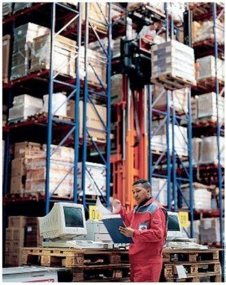 Das Business bestimmt die IT-Unterstützung - auch in den Hochregallagern der Thiel Logistik AG. Fotos: Thiel Logistik