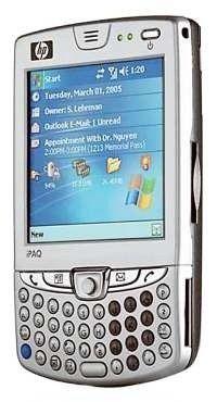 """Mit Microsofts PDA-Oberfläche """"Pocket-PC"""": HP iPaq HW6500"""