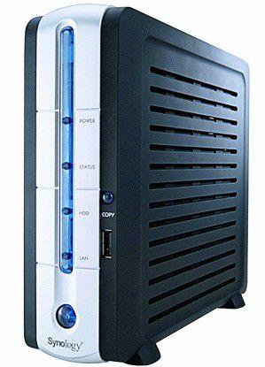Die Diskstation DS-101g+ wartet als Storage-Appliance mit zahlreichen Zusatzfeatures auf.