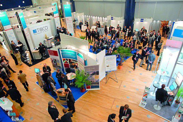 Rund 650 Fachbesucher kamen zum Business Integration Forum nach Frankfurt am Main.