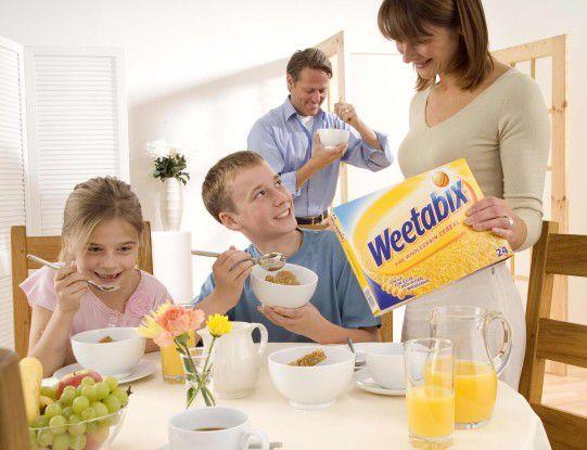 In Deutschland kaum bekannt, setzt Weetabix jährlich 300 Millionen britische Pfund mit Frühstückzerealien um.