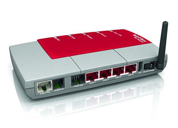 Mehr bietet keiner in dieser Klasse: Die Fritz Box Fon 7170 ist DSL-Netzwerk-Router, VoIP-Telefonanlage, USB-Server und WLAN-Access-Point in einem.