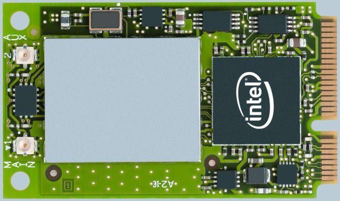 Ein Centrino-Funkmodul vom Typ Intel PRO/Wireless 3945ABG