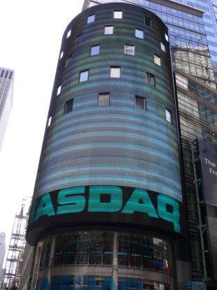 Nasdaq-Gebäude am Times Square (Foto: Thomas Cloer)