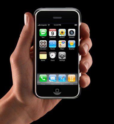 In Europa wird man das iPhone erst Ende des Jahres in der Hand halten können.