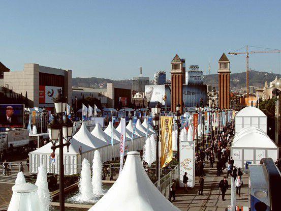 Im Gegensatz zu anderen Messen boomt der 3GSM World Congress. Aussteller- und Besucherzahlen wachsen.
