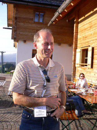 Klaus Holse Andersen bei der Microsoft Informationveranstaltung (MIV) 2006. Foto: Thomas Cloer