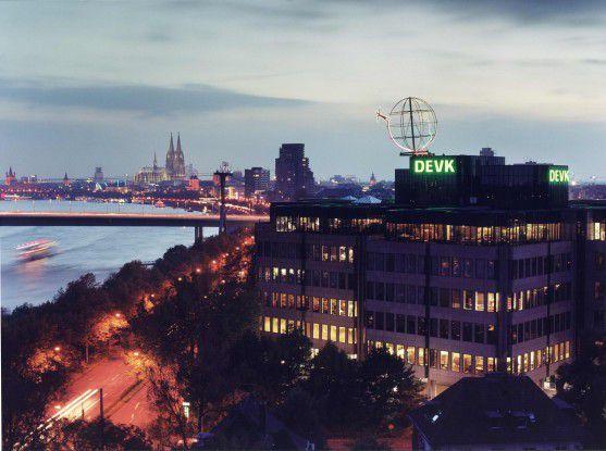 Die DEVK-Zentrale in Köln
