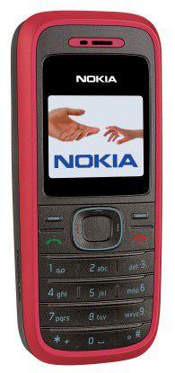 Das 1208 ist eines von zunächst drei Nokia-Handys, die ihren Besitzer ermahnen, nach dem Laden auch das Netzteil auszustecken, um keine Energie zu vergeuden.
