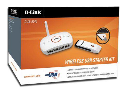 Noch nicht hierzulande verfügbar: Ein Wireless-USB-Set von D-Link