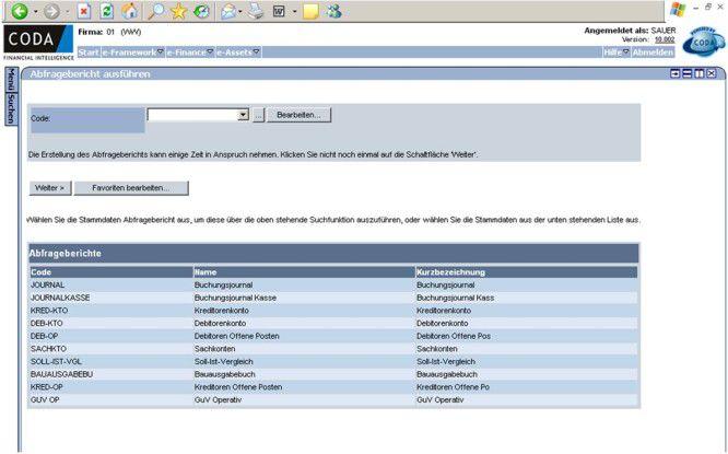 Über das Web-Interface der Finanzbuchhaltungssoftware können Controller an den dezentralen Standorten Buchungen kontrollieren.